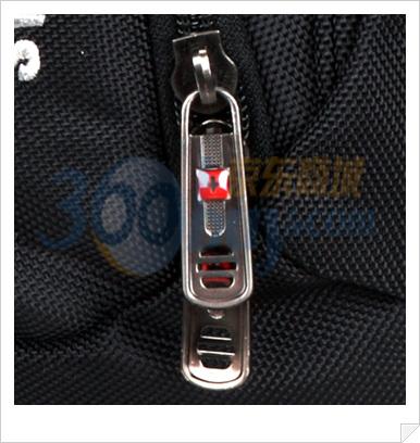swisswin瑞士十字涤纶双肩电脑背包sw8526黑色