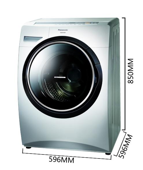 3398元包邮!松下(Panasonic)6.0千克滚筒洗衣机XQG60-V63GW(白色)