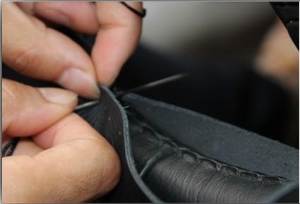 卡卡买高级真皮手缝方向盘套