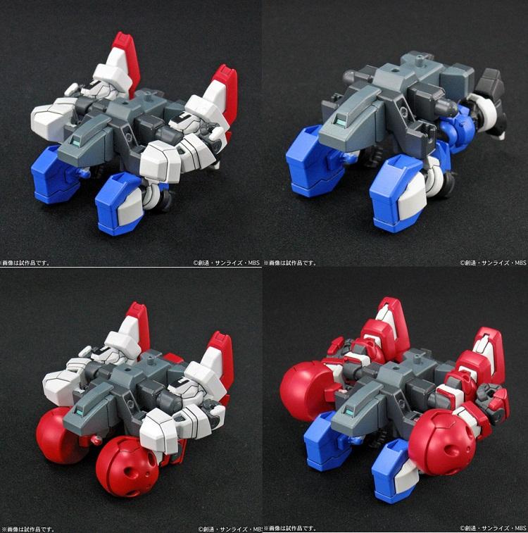 【万代动漫玩具】BANDAI 万代 敢达模型 敢达AGE BB 敢达AGE-1 三形态套装 HGD-175313图片