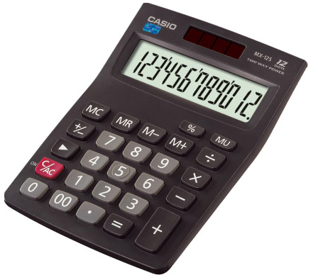 CASIO 卡西欧 MX-12S 商务计算器