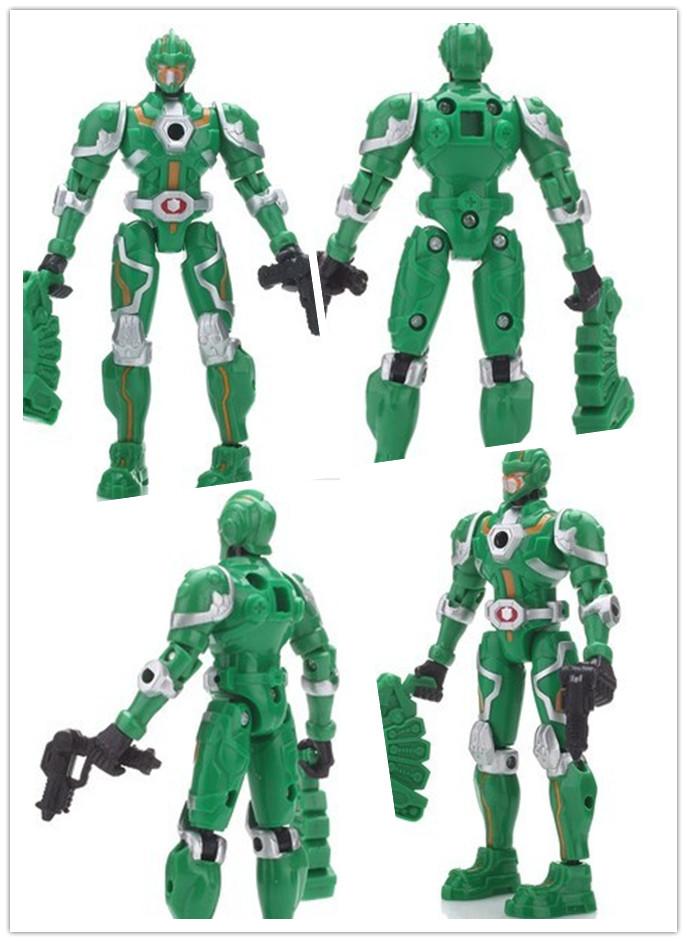 钢铁飞龙 超可动公仔 绿晶飞龙战士 9004卡酷动画热播 高清图片