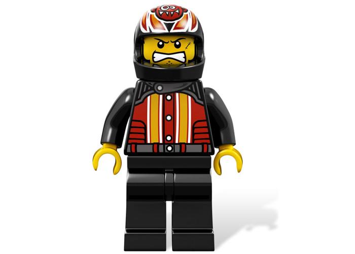 LEGO 乐高 9092 狂魔赛车(1秒钟司机变超人)