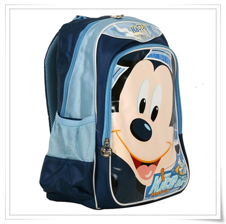 迪士尼米奇小学生书包mb8053a-兰色价格
