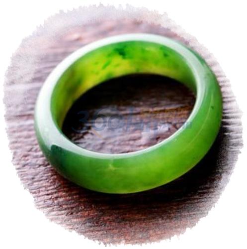 7000年和田玉 碧玉 爱情魔戒 解开爱情的魔咒 可作戒指和...