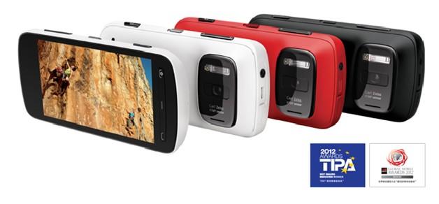 奇葩物:NOKIA 诺基亚 808 纯景 Pure View 3G手机(4100万像素)