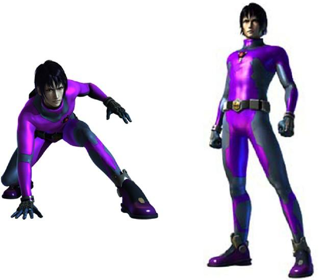 钢铁飞龙 超可动公仔 紫晶飞龙战士 紫影风 9016卡酷 高清图片