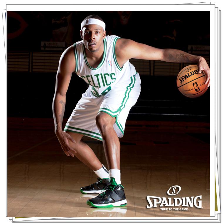 g斯伯丁篮球 NBA热火队徽74 098图片