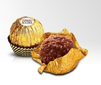 巧克力优惠:意大利Ferrero费列罗榛果威化巧克力3粒装600g ¥146,