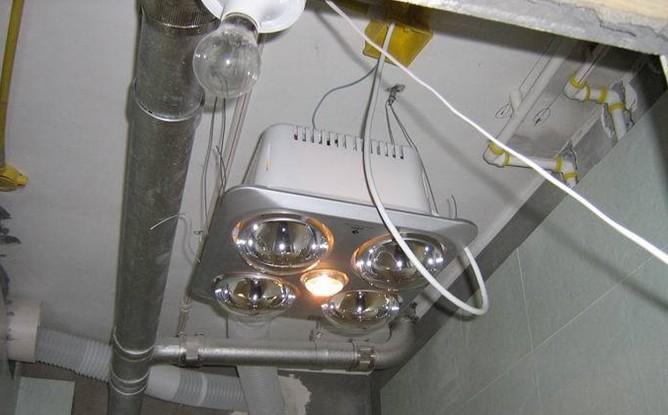 浴霸面板内部接线图