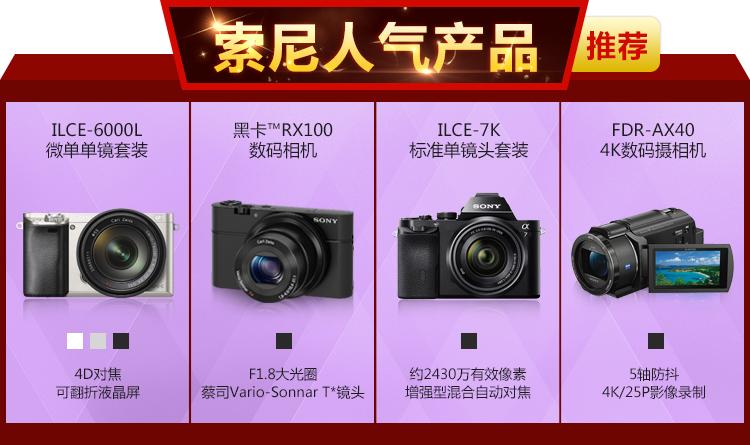 索尼(SONY) DSC-RX100 M5 黑卡数码相机 40倍慢动作 等效24-70mm F1.8-2.8蔡司镜头(WIFI/NFC) 4k视频