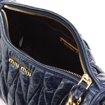 女式蓝色手提包