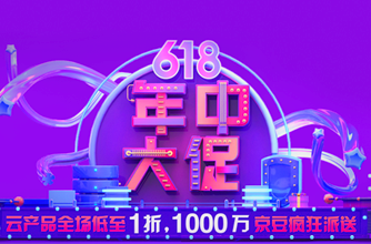 618 big promotion of JD Cloud in 2019