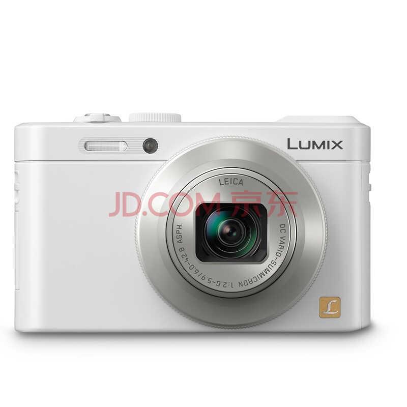 松下(Panasonic) DMC-LF1GK-W 数码相机 白色 (1210万像素 3.0英寸液晶屏 7.1倍光学变焦 28mm广角))