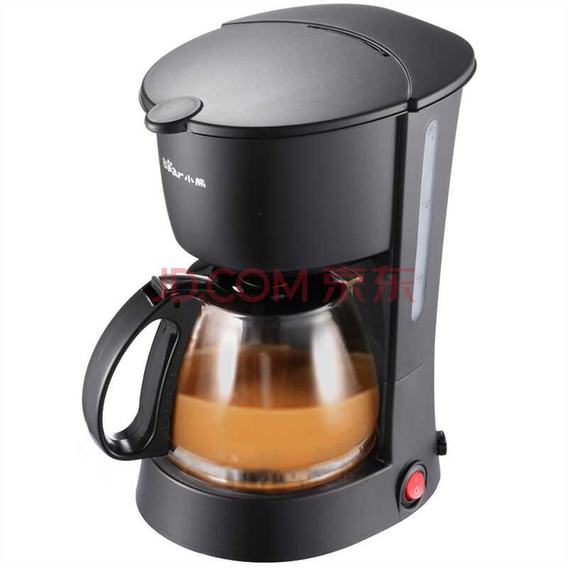小熊(Bear)KFJ-403 咖啡机 600ml (黑色))
