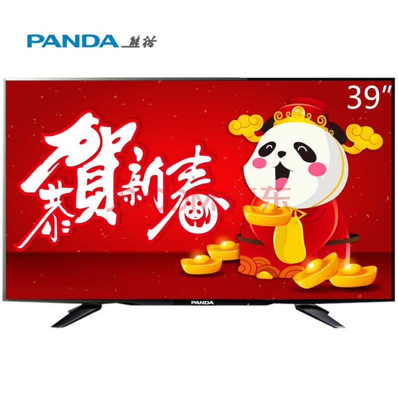 熊猫(PANDA) LE39D71S U派39英寸 夏普技术屏 安卓4.4+六核智能云电视(黑色)