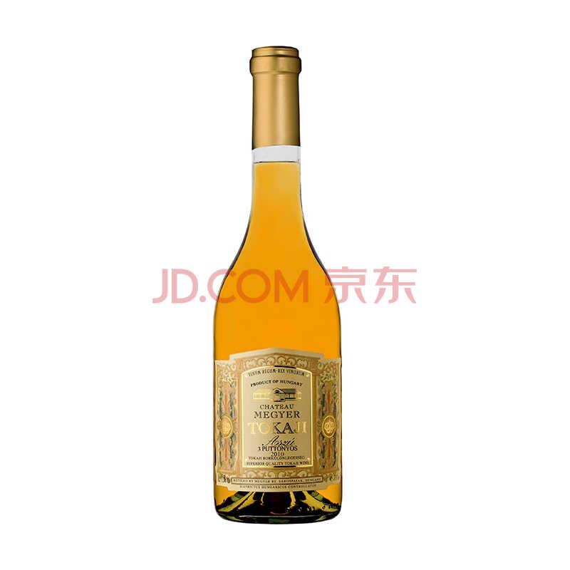 海外直采 匈牙利进口 美亚庄园托卡伊奥苏3筐甜白葡萄酒500ml TOKAJ)
