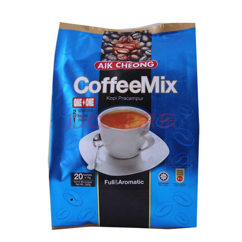 马来西亚进口 益昌即溶咖啡2合1袋装300g(新老包装随机发放))