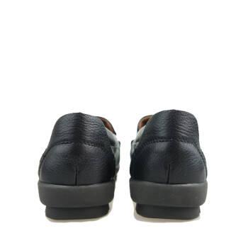 ten美国欢腾 品牌女鞋牛皮女单鞋休闲女皮鞋