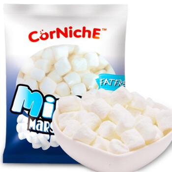 菲律宾进口 可尼斯 CorNiche迷你白棉花糖果200g 儿童零食 软糖 牛轧糖烘培原料