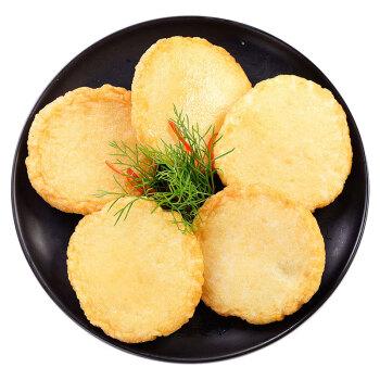 美加佳 冷冻爆浆芝士鱼籽饼 鳕鱼饼 150g  5-6个装  火锅食材 自营海鲜水产