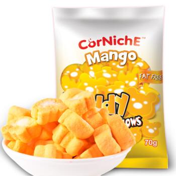 菲律宾进口 可尼斯(CorNiche)芒果泰迪棉花糖果70g 儿童零食 软糖 牛轧糖原料