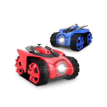 京东京造 遥控车 ZEGA智能对战坦克 手机遥控红外线炮台发射 玩具战甲两台装 节日礼品装