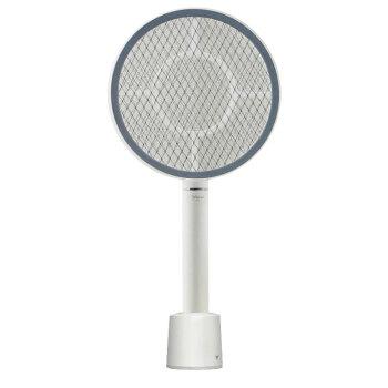 雅格 电蚊拍无线充电式 灭蚊拍电苍蝇拍灭蚊器 家用灭蚊虫拍 能量环尊享版