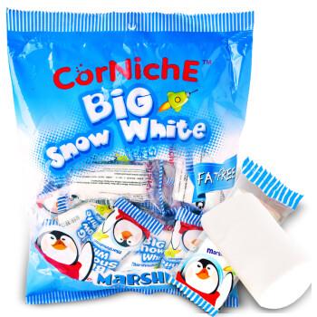 菲律宾进口 可尼斯 CorNiche 大白雪公主棉花糖果255g 零食品 软糖 牛轧糖烘培烧烤原料