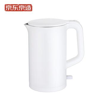 京造电水壶  304不锈钢热水瓶1.5L容量  双层防烫 进口温控 自动断电 1800W 热水壶/烧水壶