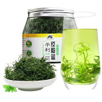 平利绞股蓝茶 茶叶养生茶 特选五叶绞股蓝龙须茶罐装(清香甘味)50g