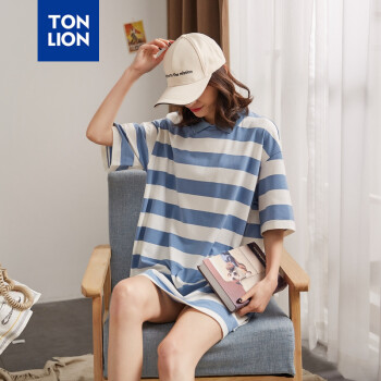 唐獅(TonLion)  拼色 連衣裙