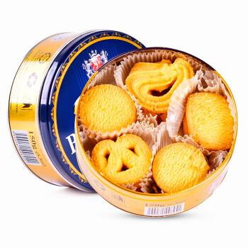 马来西亚原装进口 GPR黄油曲奇饼干150g铁盒 罐装 儿童休闲零食糕点