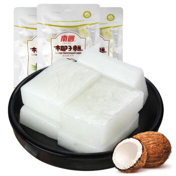 海南特产 南国 节日喜糖 休闲零食 椰子糕软糖果200g*3袋