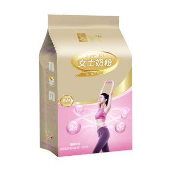 蒙牛 铂金装高钙高铁女士奶粉 成人奶粉 400g