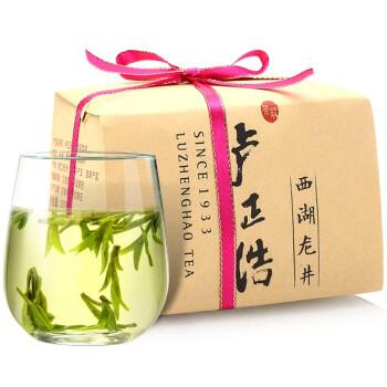 卢正浩 茶叶绿茶 明前特级西湖龙井茶叶春茶2019新茶(梅家坞产区 )150g