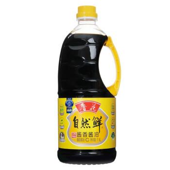 鲁花 自然鲜 酱香酱油 1.6L 瓶装