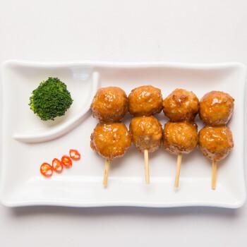华都食品 小伙伴丸子600g 日式风味 微波食材 烧烤食材 火锅食材 鸡肉 鸡胸肉 莲藕 出口日本级