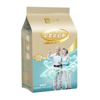 蒙牛 铂金多维高钙中老年奶粉 成人奶粉 400g
