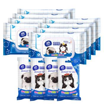 维达(Vinda)专供湿厕纸吾皇IP定制版(40片*8包+10片*4包)优惠装