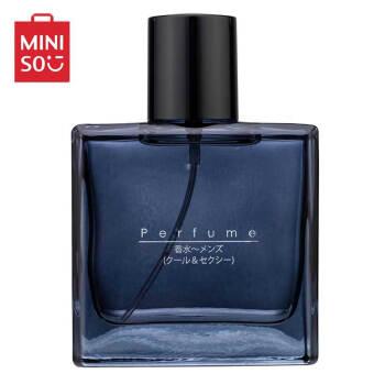 名创优品 MINISO 男士香水50ML香水男士古龙水持久淡香清新品质时尚清新 酷炫男士香水50ML