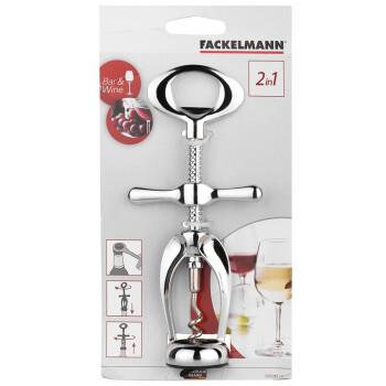 德国法克曼Fackelmann开瓶器 锌合金红酒转式开瓶器 拔塞钻 瓶起子 5307281