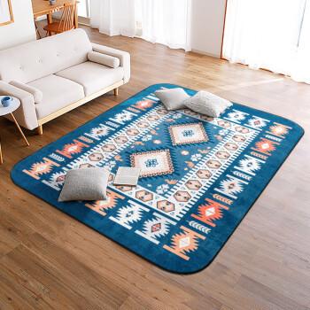江南叶地毯客厅卧室沙发茶几印花短绒地毯160*230cm爱斯基摩