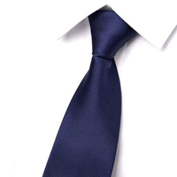 GLO-STORY 拉链领带 男士商务正装潮流领带礼盒装MLD824065 宝蓝色