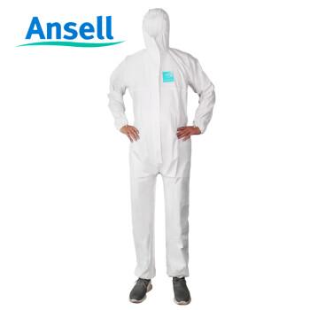 安思尔(ansell)MICROGARD2000 标准型连体衣 工作服 防护防化服防尘喷漆服 XL码