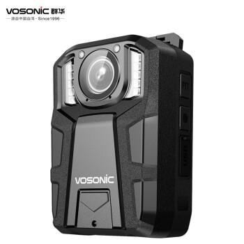 群华(VOSONIC)D10执法记录仪录像机1296P红外夜视 16小时超长录像3600万像素内置64G