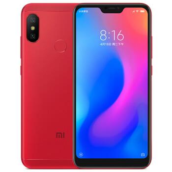 小米 红米6 Pro 全网通版 3GB内存  赤焰红 32GB 移动联通电信4G手机 双卡双待