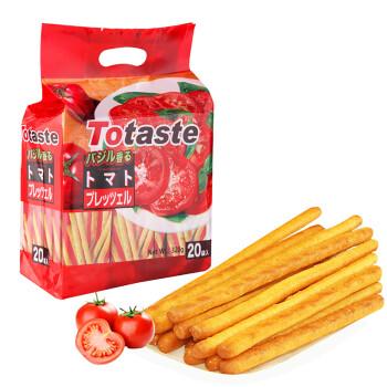 土斯(Totaste) 番茄味棒形饼干 手指形早餐饼干 磨牙棒 休闲零食蛋糕面包甜点心小吃 独立小包装320g