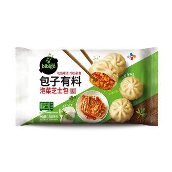 必品阁(bibigo)泡菜芝士包子168g(微波速食 儿童早餐 辣白菜 韩餐 小笼包)