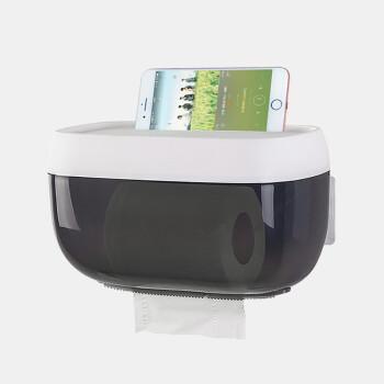 FOOJO浴室厕纸盒免打孔防水卫生间纸巾盒